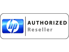 HP authorized reseller logo